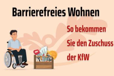 Barrierefreies Wohnen: KFW-Zuschuss für den Umbau erhalten