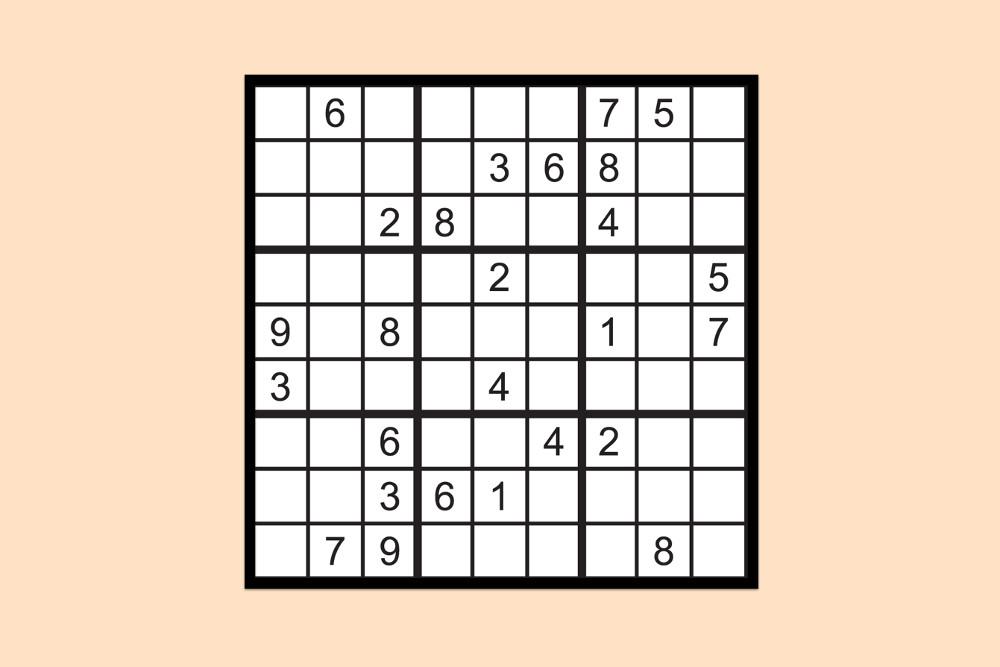 Sudoku Raetsel Schwer 1