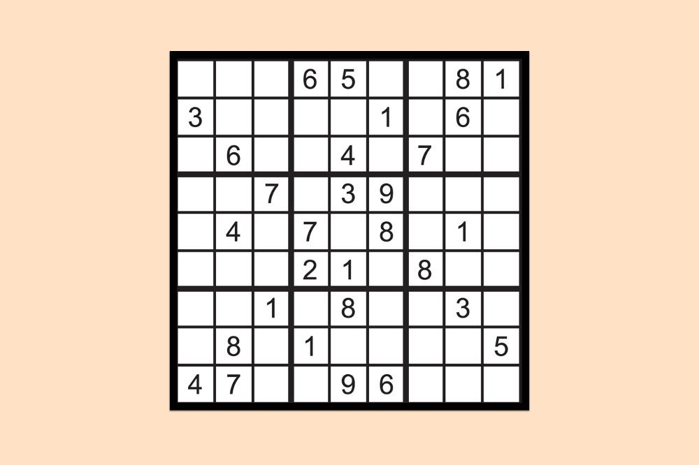 Sudoku Raetsel Schwer 2