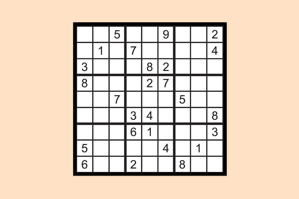 Sudoku Raetsel Schwer 3