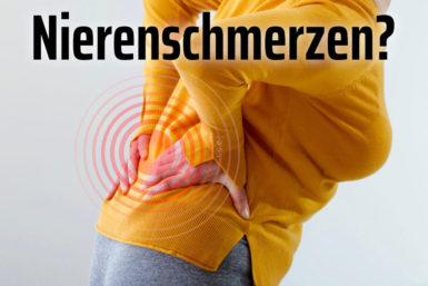 Nierenschmerzen: Symptome, Ursachen, Hilfe