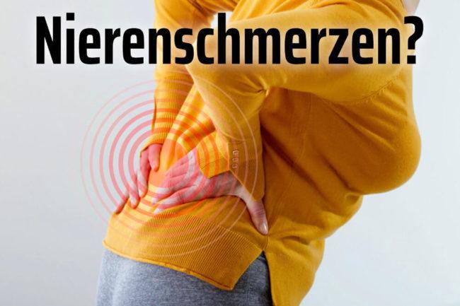 Nierenschmerzen: Test, Symptome, Ursachen, Hilfe