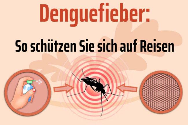 Dengue-Fieber: So schützen Sie sich auf Reisen
