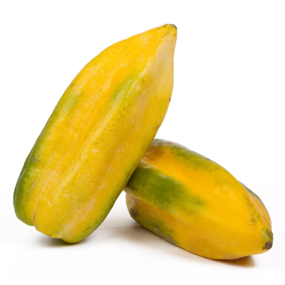 Exotische Fruechte Lecker Babaco