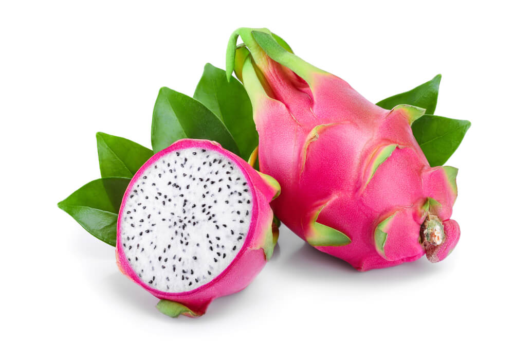 Exotische Fruechte Lecker Pitahaya