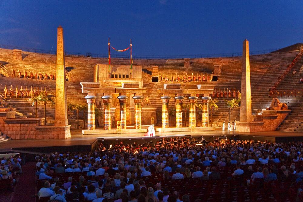 Gardasee Arena Verona Oper