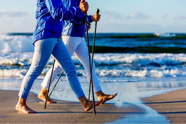 Nordic Walking: So halten Sie Ihren Körper fit