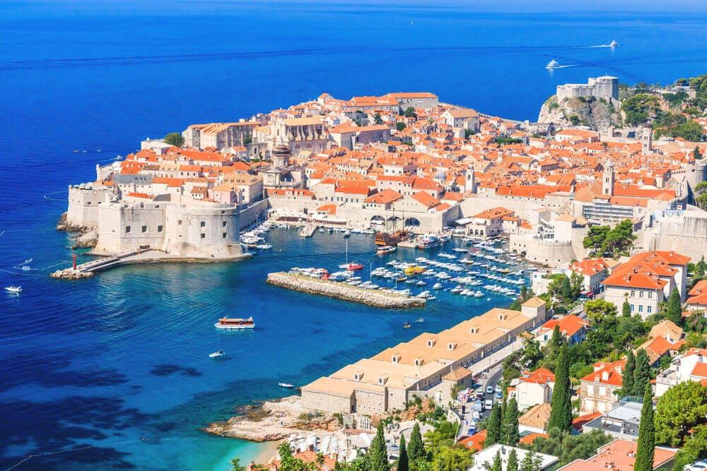 Dubrovnik-Kroatien-Adria-Reise