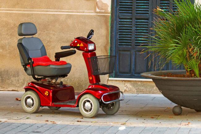 Elektromobil: Im Alter bequem unterwegs sein