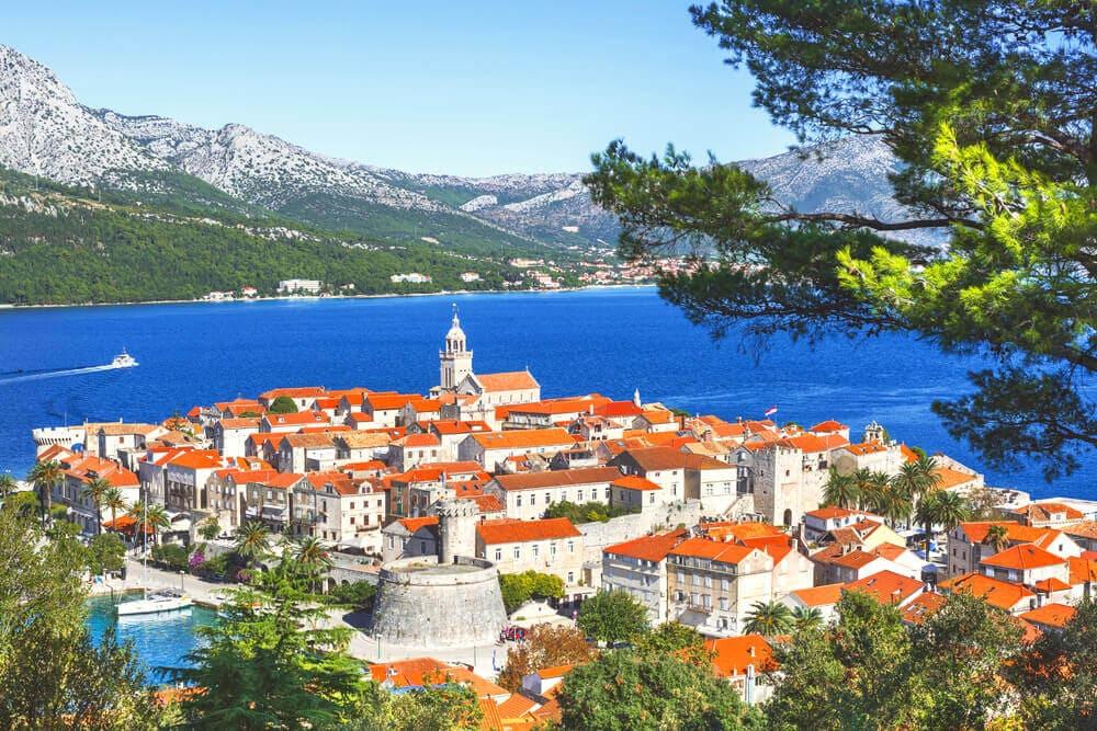 Korcula-Kroatien-Adria-Reise-Insel