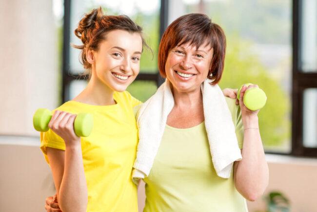 Krafttraining im Alter: Bringen Sie sich in Form