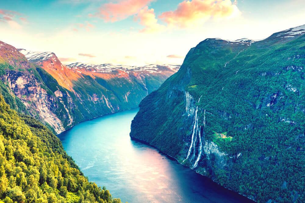 Suedskandinavien-Geiranger-Fjord-Norwegen