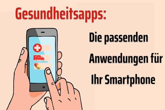 Gesundheitsapps: Anwendungen für Ihr Smartphone