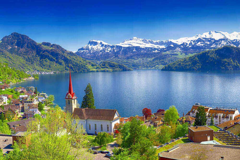 Schweiz-Vierwaldstaetter-See-Gotthard