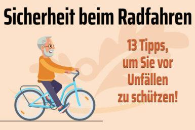 Sicherheit beim Radfahren: Tipps für Ältere