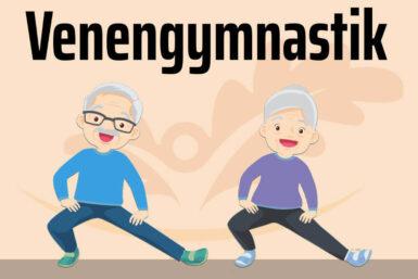 Venengymnastik:  11 Übungen für Zuhause