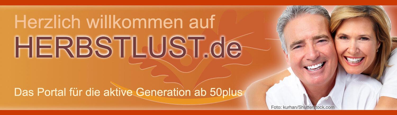 Herbstlust.de - Das Portal für aktive Senioren ab 50 plus