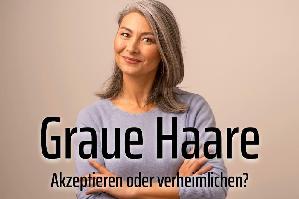 Graue Haare: Ursachen und Tipps für die Pflege   Herbstlust.de