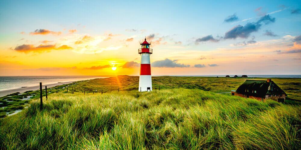 Sylt Sehenswuerdigkeiten Westerland Ellbogen Leuchtturm Reisetipps Urlaub